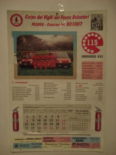 calendario anno 1997